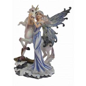Magasin féerique fanatsy vente figurines fées et licornes