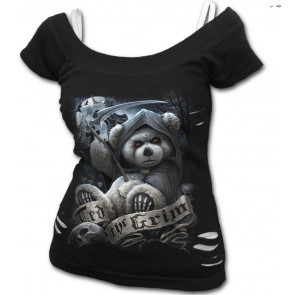 Ted the grim - Tee-shirt femme gothic