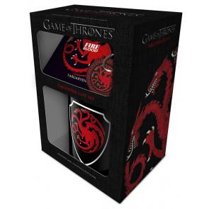 Boutique got game of thrones licence HBO trone de fer coffret cadeau mug accessoires famille targaryen