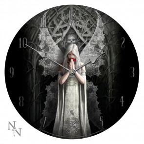 Only Love Remains - Horloge ange gothique - Anne Stokes