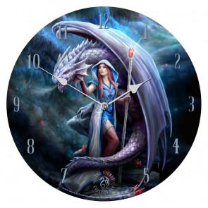 Dragon mage - Horloge heroic fantasy - Anne Stokes
