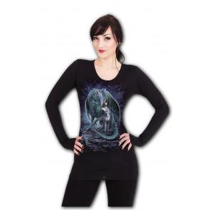 Protector of magic - T-shirt femme - Dragon Licorne - Spiral