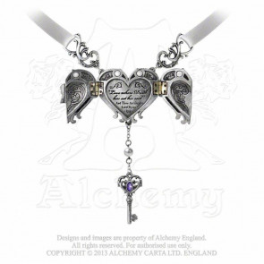 Inamorato locket - Pendentif gothique - Alchemy Gothic