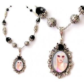 collier pendentif gothique
