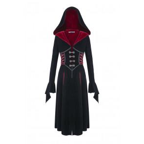Manteau long femme gothic romantique - Dark In Love