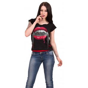 Fangs - Tee-shirt femme gothic