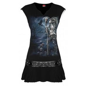 boutique vente vetement gothique pour femme dark fantasy raven queen spiral