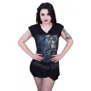 Raven queen - Tunique gothique - Femme - Spiral