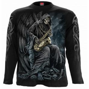 Reaper blues - T-shirt reaper squelette - La faucheuse - Homme - Spiral