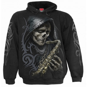 Reaper blues - Sweat shirt homme - La faucheuse squelette - Spiral