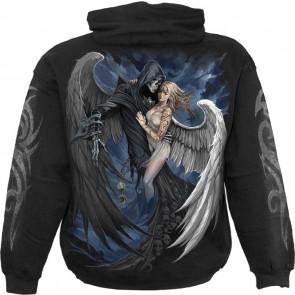 Boutique en ligne vente vertement anges gothique sweat pour homme