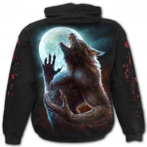 Wild moon - Sweat shirt loup garou - Homme