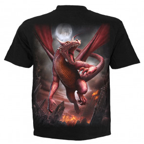 Awake the dragon - T-shirt homme dragon