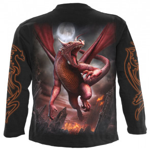 Awake the dragon - T-shirt homme - Manches longues