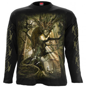 Dragon forest - T-shirt homme - Manches longues