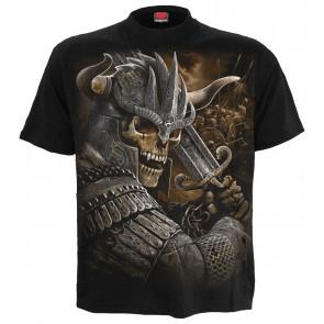 Boutique Viking warrior - Tee shirt homme - Dark fantasy squelette manches courtes