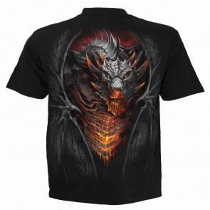 Draconis - T-shirt dragon - Manches courtes - Homme