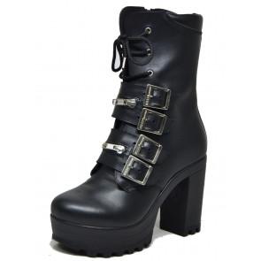 Boutique vente chaussures rock gothique pour femme. Magasin France Sarlat Périgord Dordogne