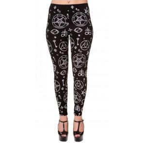 boutique vente leggings motifs symboles ésotériques