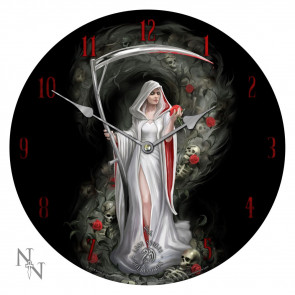 boutqiue deco horloge gothic life blood anne stokes