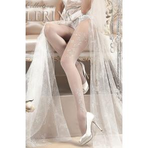 boutique lingerie de mariage collants blancs ballerina en france Périgord doedogne