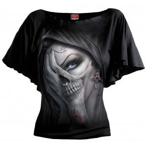 Dead hand - T-shirt femme gothique