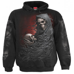 Death robe - Sweat shirt homme - Reaper squelette - Spiral
