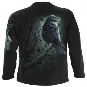 Shadow raven - T-shirt dark - Corbeau - Homme - Manches longues