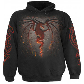Dragon furnace - Sweat shirt dragon - Homme