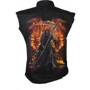 Flaming death - Chemise sans manches - Gothique