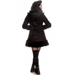 Manteau Sarah Jane noir - Femme - Hell Bunny