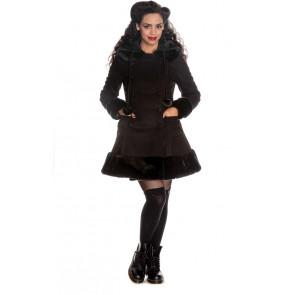 manteau femme couleur noir lolita sarah jane
