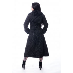 Manteau Rock Gothic femme - Kaste coat - Poizen industries