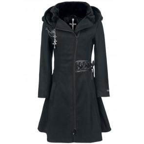 Boutique magasin rock manteau gothic femme tears alchemy black