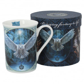 Boutique en france anne stokes motif animal chouette mug tasse