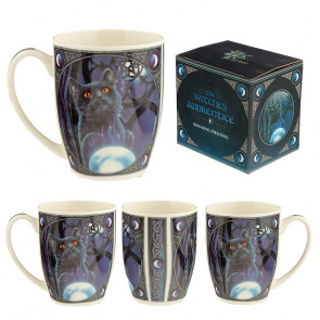 boutique vente mug motif chat noir lisa parker witches apprentice