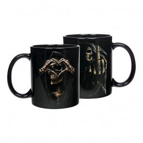 Coffret 2 mugs - Reaper squelette - Tasse dark gothic