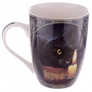 Chat noir assoupi - Mug - Tasse - Lisa Parker - Déco