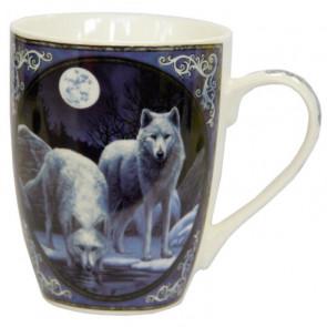 Loups hiver - Mug - Tasse - Lisa Parker
