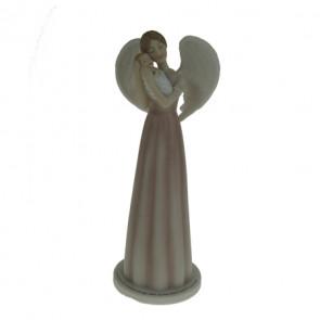 figurine ange et son enfant