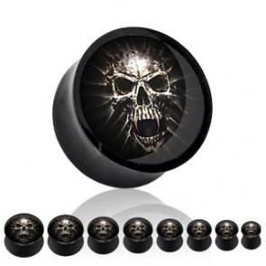 Plug - Mummy Skull - Acrylic