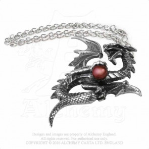 Aethera Draconem - Pendentif - Dragon - Alchemy Gothic