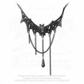 Villa Diodati - Collier pendentif chauve souris - Alchemy Gothic