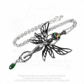 The Green Goddess - Pendentif fée - Alchemy Gothic
