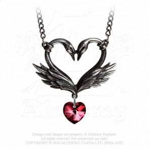 The Black Swan Romance - Pendentif - Alchemy Gothic