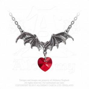 Boutique magasin bijoux gothique motif chauve souris coeur