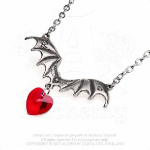 Vampire loveheart - Pendentif chauve souris - Alchemy Gothic