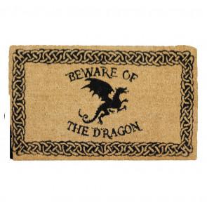 Beware of dragon - Paillasson - Déco Heroic Fantasy - 75x45cm