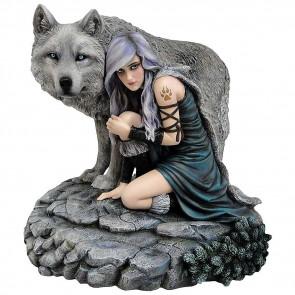 statuette décoration anne stokes boutique figurine protector