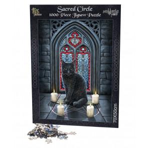 Sacred circle - Puzzle - Chat - Lisa Parker - 1000 pièces